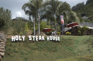 Panneau Holy Steak House